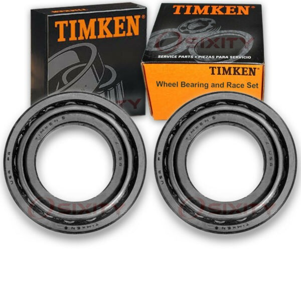 Timken Rear Outer Wheel Bearing & Race Set for 2007-2010 Chevrolet Silverado zh