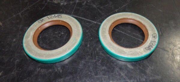 SKF Fluoro Rubber Oil Seals QTY 2 CRW1 Design 1.25