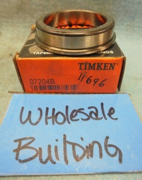 TIMKEN 07204B TAPERED ROLLER BEARING FLANGED CUP/RACE, 2.1990