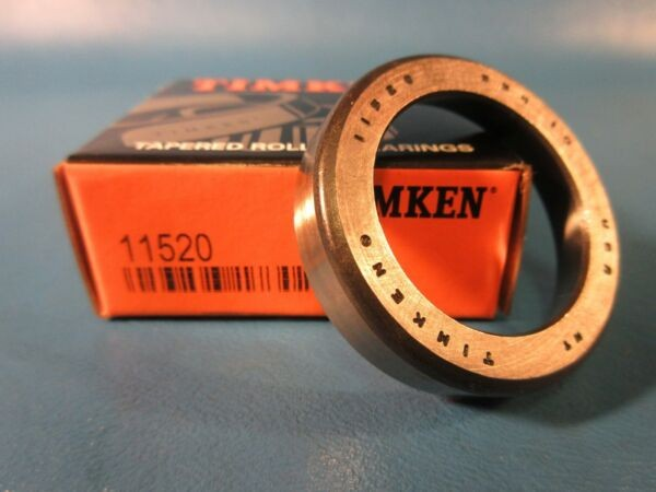 Timken 11520 Tapered Roller Bearing, Single Cup (Fafnir, Koyo, NTN, SKF, RBC)