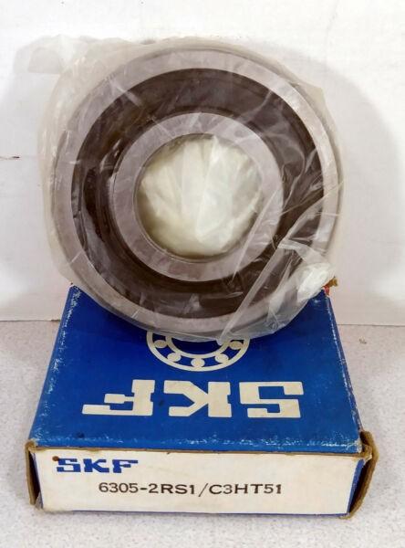 1 NEW SKF 6305-2RS1/C3HT51 SINGLE ROW BALL BEARING  ***MAKE OFFER***
