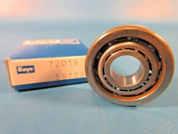 Koyo 7201B  Angular Contact Ball Bearing, Japan (NSK, FAG, SKF)