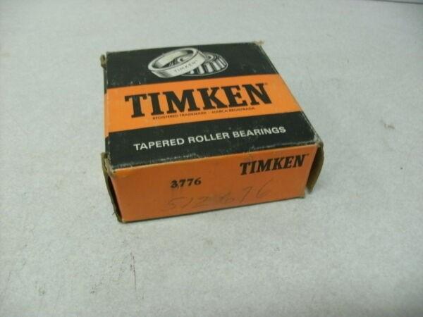 TIMKEN 3776 TAPERED BEARING, NEW, USA