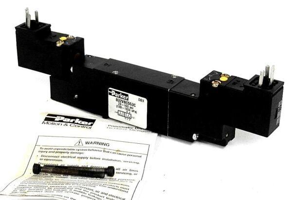 NEW PARKER B32VBC553C AIR CONTROL SOLENOID VALVE 150 PSI