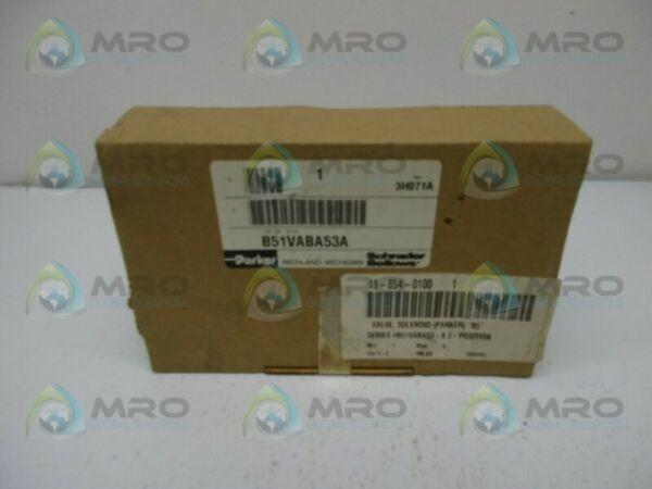 PARKER B51VABA53A PNEUMATIC SOLENOID VALVE * NEW IN BOX *