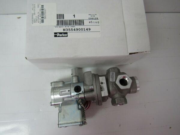 PARKER N3554900149 3/8 BASIC 3W NC 24VDC
