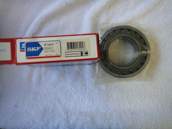 NIB SKF Bearing   22218 E/C3