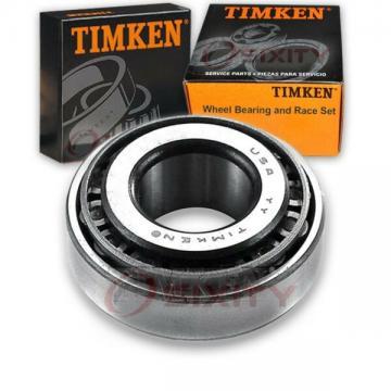Timken Front Outer Wheel Bearing & Race Set for 1978 Oldsmobile Cutlass bx