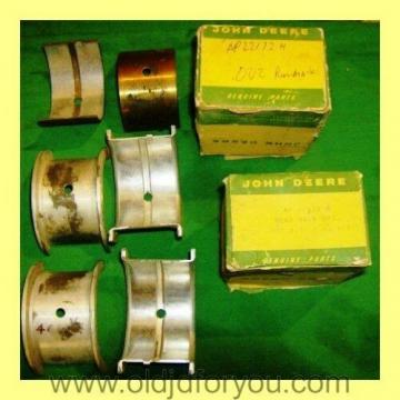 John Deere 55 Combine Main Bearing Set - AP22172H with Bonus Mains - NOS