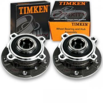 2pc Timken 513210 Wheel Bearing & Hub Assembly for 31226765601 405.34001 ou