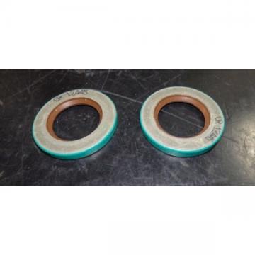 """SKF Fluoro Rubber Oil Seals QTY 2 CRW1 Design 1.25"""" x 2"""" x .25"""" 12445"""