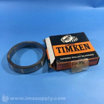 TIMKEN 39521 TAPERED ROLLER BEARING CUP, SINGLE CUP, 4.4375 IN OD FNOB