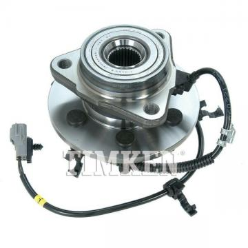 Wheel Bearing and Hub Assembly-Axle Bearing and Hub Assembly Front Left Timken