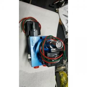 41346 parker block valve dual solenoid. bx97