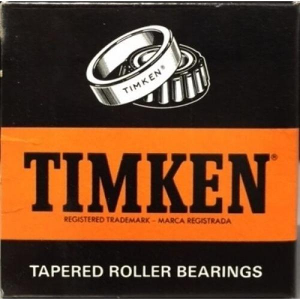 TIMKEN M224748#3 TAPERED ROLLER BEARING, SINGLE CONE, PRECISION TOLERANCE, ST... #1 image