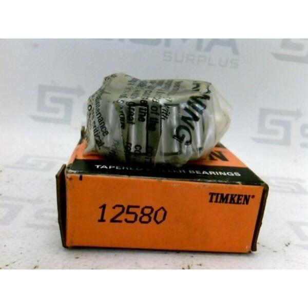 New! Timken 12580 Tapered Roller Bearing Cone #1 image